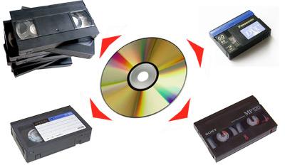 оцифровка видеокассет на DVD диск в Запорожье