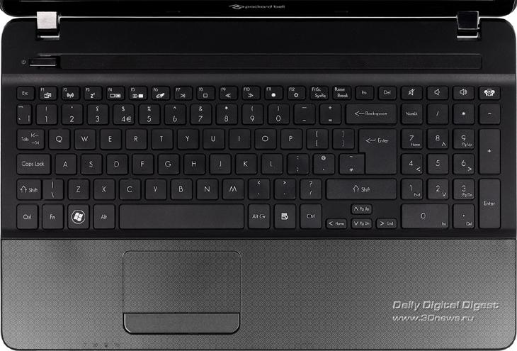 Клавиатура ноутбука перепутана